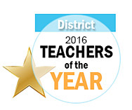 Teacher of the Year District logo