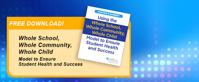 Item Detail - Using the WSCC Model for Student Health and