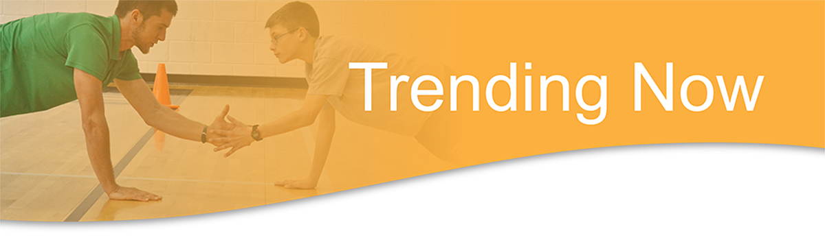 Join SHAPE America to keep up with the latest topics and trends in physical education and health education.
