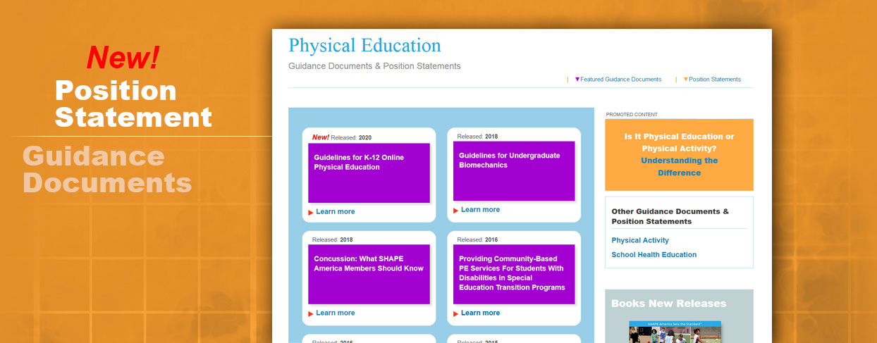 Guidelines for K-12 Online PE