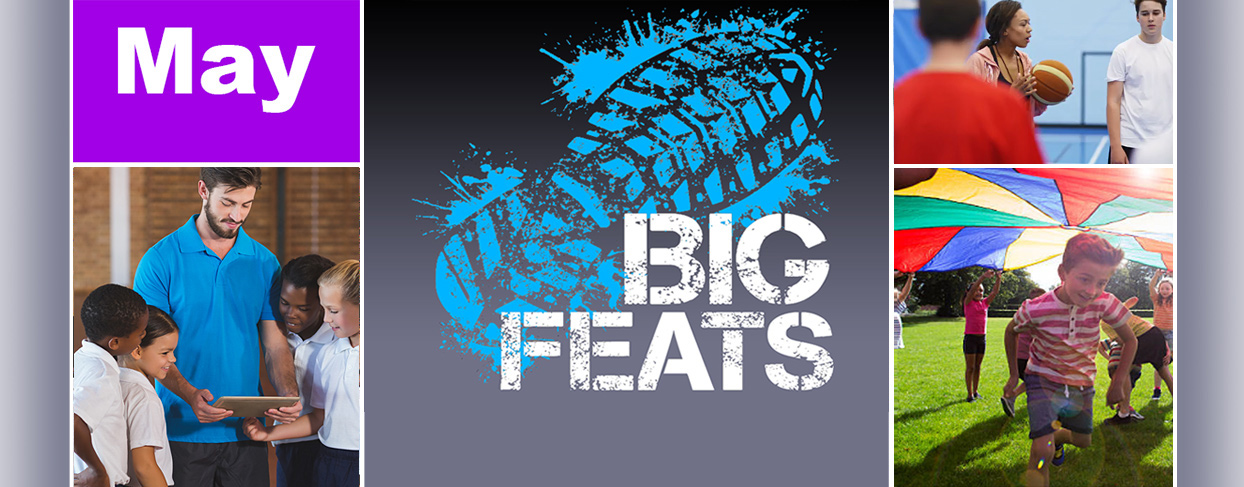 BigFeats for National PE & Sport Week