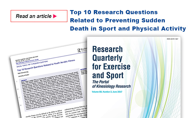 Top 10 Research Questions Related to Youth Aerobic Fitness