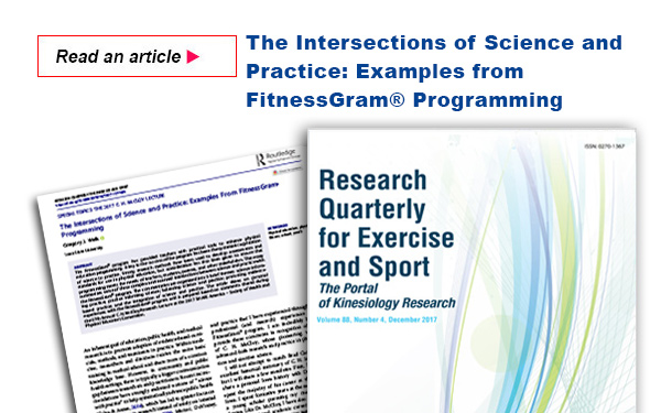 The Intersections of Science and Practice: Examples from FitnessGram Programming