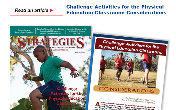 Challenge Activities for the Physical Education Classroom Considerations