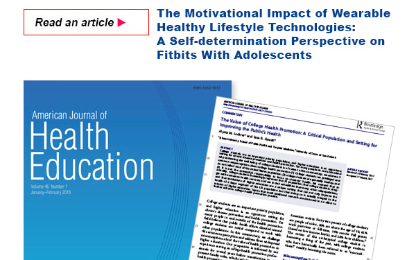 The Motivational Impact of Wearable Healthy Lifestyle Technologies: A Self-determination Perspective on Fitbits With Adolescents