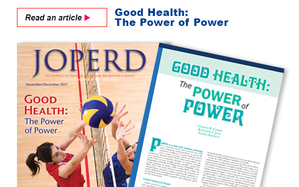 Good Health: The Power of Power