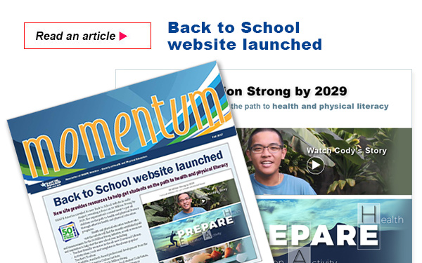 Back to School website launched