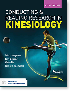 Conducting and Reading Research in Kinesiology