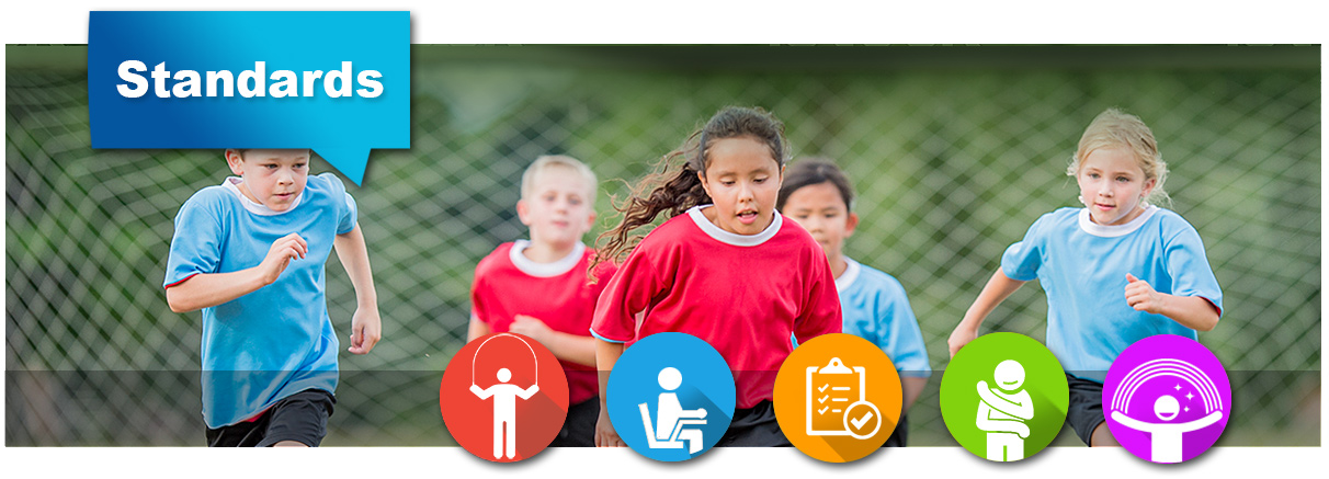 Physical Education Is Key To Longer >> National Pe Standards Highly Effective Physical Education