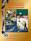 National Standards & Guidelines for Physical Education Teacher Education book cover