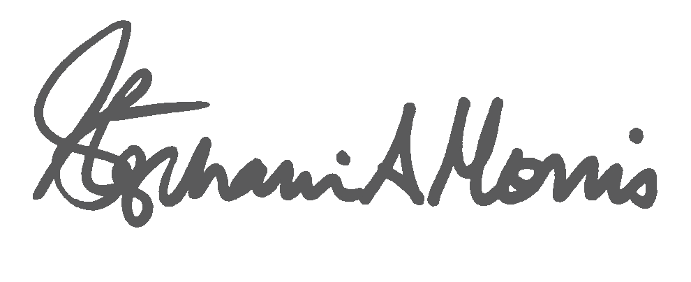 Stephanie Morris signature