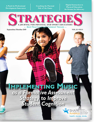 Strategies Cover September October 2019