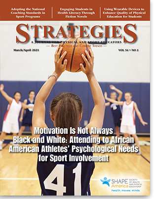 Strategies March April 2021 cover